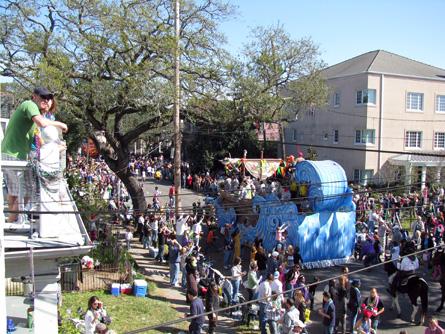 The parade.