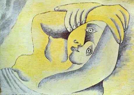 Picasso - Nude on a Beach