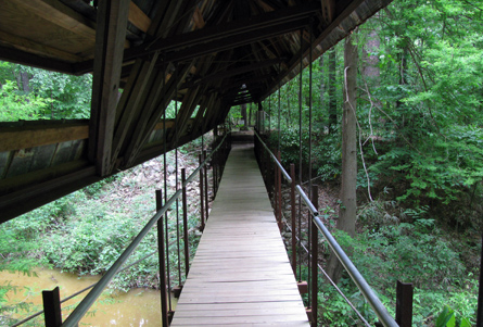 Bridge - Perry Lakes, Alabama.