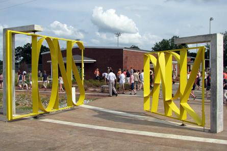 Lions Park gate - Greensboro, Alabama.